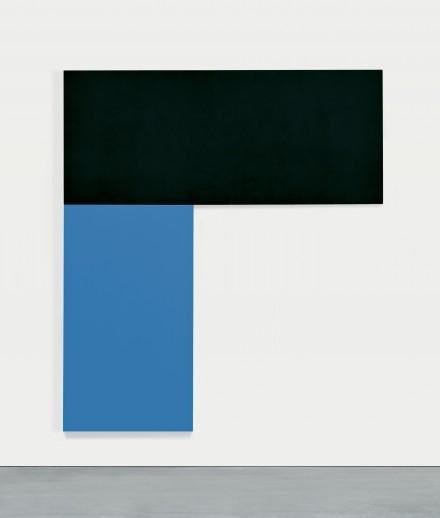 Ellsworth Kelly,  Chatham III Black Blue (1971), Courtesy of MoMA
