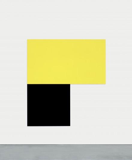 Ellsworth Kelly,  Chatham XII Yellow Black (1971), Courtesy of MoMA