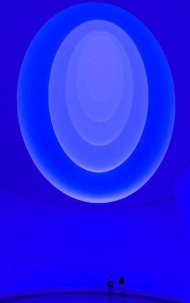 James Turrell, Aten Reign (2013) (Installation View) © James Turrell, Photo: David Heald © Solomon R. Guggenheim Foundation, New York