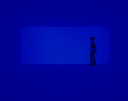 James Turrell, End Around: Ganzfeld, (2006), Courtesy the Museum of Fine Arts, Houston. © James Turrell Photograph by Florian Holzherr