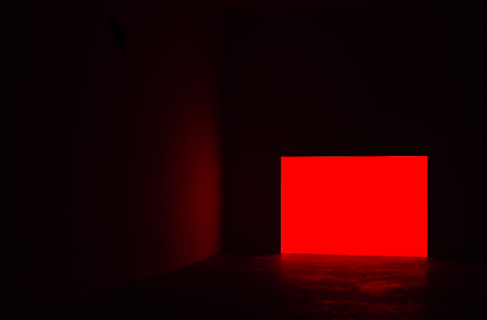 James Turrell, Prado, Red (1968), Courtesy of Almine Rech