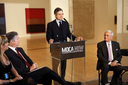 Jeffrey Deitch and MOCA Board Members, via NY Times