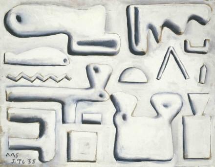 Joaquín Torres-García, Composition (Composición) (1938), © Joaquín Torres-García, Courtesy Solomon R. Guggenheim Foundation
