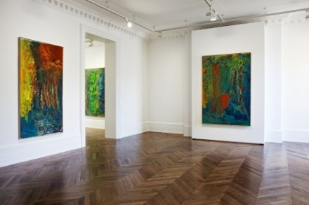 Per Kirkeby, Recent Paintings (Installation View), via Michael Werner