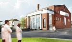 Proposed Marina Abramovic Institute, via Kickstarter