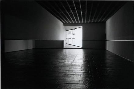 Robert Irwin, Black Rectangle - Scrim Veil - Natural Light (1977), via The Whitney