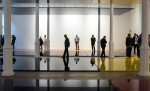 Robert Irwin at Pace London, via New York Times