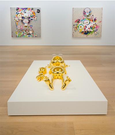 Takashi Murakami (Installation View), via Galerie Perrotin Hong Kong