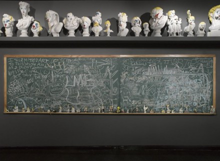 The Bruce High Quality Foundation, Ode to Joy (2001–2013) (Installation View), via Brooklyn Museum