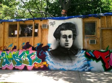 Thomas Hirschhorn, Gramsci Monument (2013), via Daniel Creahan for Art Observed