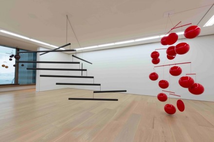 Xavier, Mobiles (Installation View), via Galerie Perrotin