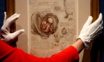 A da Vinci drawing, via the Guardian