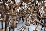 Ai Weiwei at German Pavilion, via Wall Street Journal