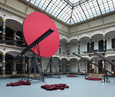 Anish Kapoor, Symphony for a Beloved Sun (Installation View), via Martin-Gropius Bau