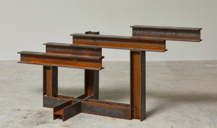 Carol Bove, Chesed (2013), via Museum of Modern Art