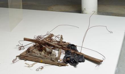 Carol Bove, Disgusting Mattress (2012), via Museum of Modern Art