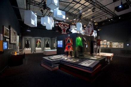 David Bowie Is (Installation View), via Victoria and Albert Museum