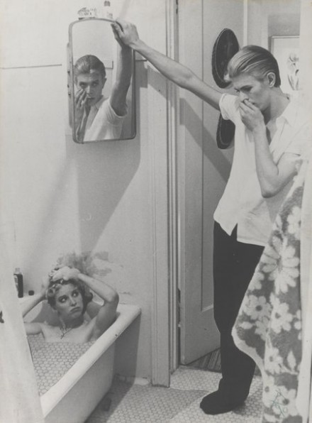 David Bowie, Photocollage of Manipulated Stills from The Man who Fell to Earth (1975-76), via Victoria and Albert Museum