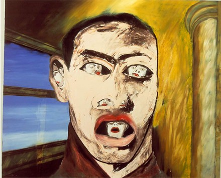 Francesco Clemente, Name (1983), Courtesy Thomas Ammann Fine Art AG, Zurich