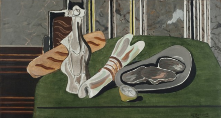 Georges Braque, Still Life with Oysters (1937), via Phillips Collection