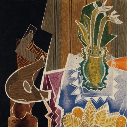 Georges Braque, Stool, Vase, Palette (1939), via Phillips Collection