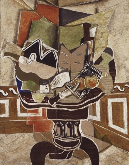 Georges Braque, The Round Table (1929), via Phillips Collection