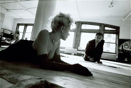 Gianfranco Gorgoni, Broadway Studio (1980s), Courtesy Thomas Ammann Fine Art AG, Zurich (2)