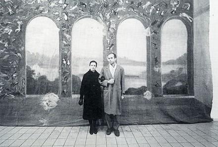 Gianfranco Gorgoni, Francesco and wife Alba (1983), Courtesy Thomas Ammann Fine Art AG, Zurich