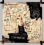 Jean-Michel Basquiat, Future Science versus Man (1983), via Time Gallery