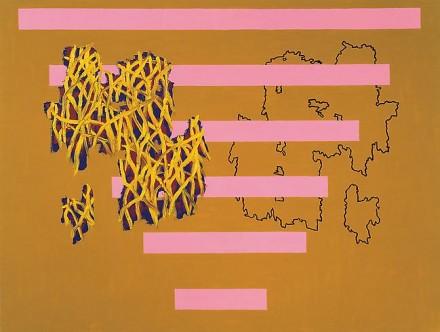 Jonathan Lasker, Double Play (1987), via Cheim and Read