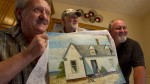 Ron Flarity,  Ken Marshall and Blair Mooney with their alleged Hopper, via Globe and Mail