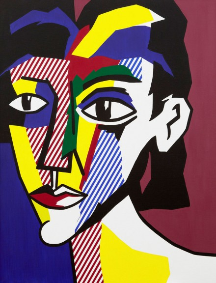Roy Lichtenstein, Portrait of a Woman (1979), Courtesy Gagosian Paris