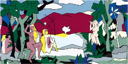 Roy Lichtenstein, The White Tree (1980), Courtesy Gagosian Paris