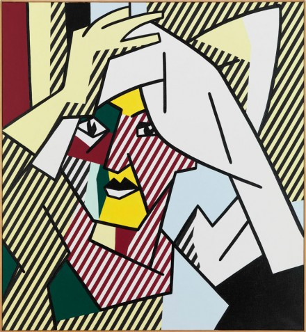 Roy Lichtenstein, Woman Drying Her Hair (1980), Courtesy Gagosian Paris