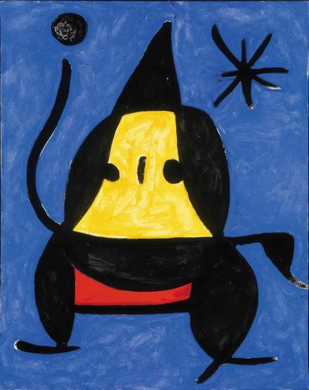 Joan Miró, Sans titre, (1978).,courtesy Fondation de l'Hermitage