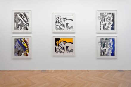 Lichtenstein: Expressionism (Installation View), Courtesy Gagosian Paris