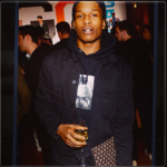 A$AP Rocky in Supreme Basquiat, via Complex