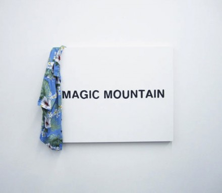 Alex Ito, Magic Mountain (2013), via Fireplace Project