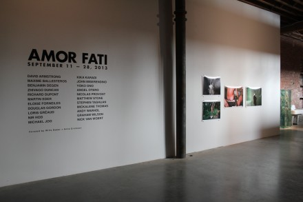 Amor Fati (Installation View), via Ben Richards for Art Observed