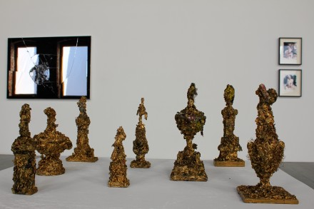 Angel Otero, Trophies (2012), via Ben Richards for Art Observed