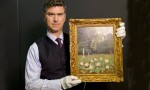 Art Loss Register's Christopher Marinello, with a stolen Matisse, via New York Times