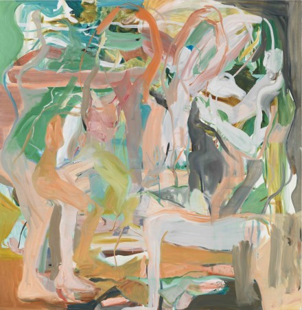 Cecily Brown, Luck Just Kissed You Hello, (2013), Courtesy Gagosian Gallery