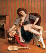 Balthus, The Guitar Lesson, via New York Magazine