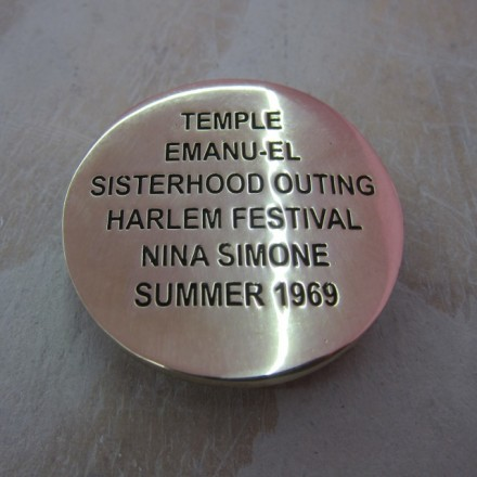 Cary Leibowitz, Temple Emanu-el Sisterhood Outing, Belt Buckle (2013), Courtesy Invisible Exports, NEW YORK