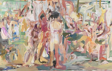 Cecily Brown, Be Nice to the Big Blue Sea (2013), Courtesy Gagosian Gallery