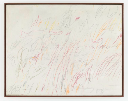 Cy Twombly, Sunset (1957), Image Credit: Tom Powell Imaging / Courtesy Dominique Lévy, New York