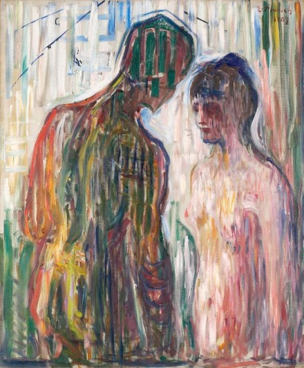 Edvard Munch, Cupid and Psyche (1907), Courtesy Munch Museet