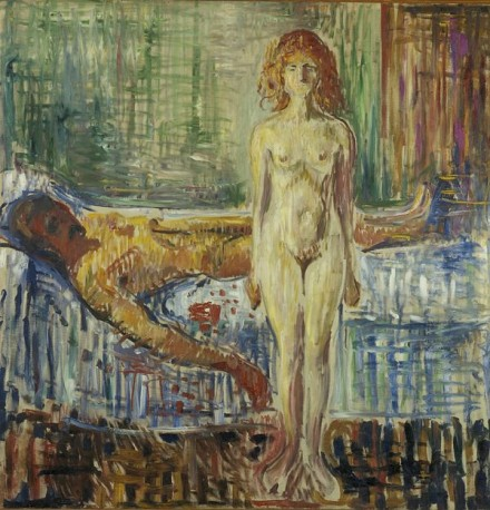 Edvard Munch, Death of Marat (1907), Courtesy Munch Museet