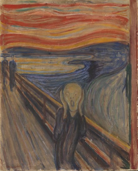 Edvard Munch, The Scream (1893), Courtesy Munch Museet