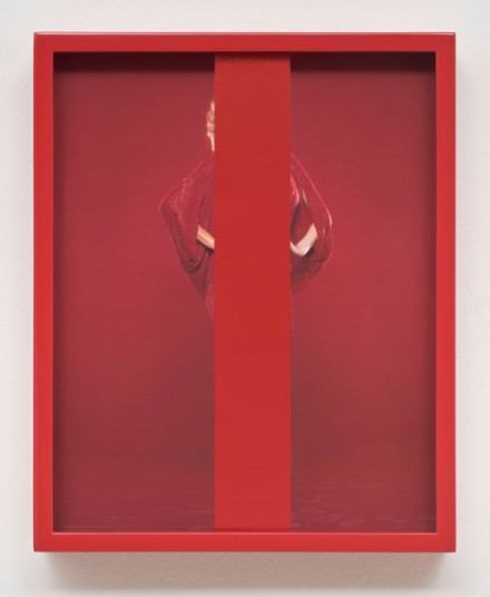 Elad Lassry, Untitled (Red) (2013), via 303 Gallery